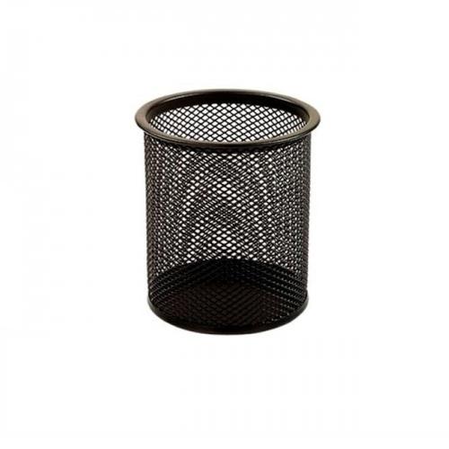 Čaša za olovke žičana crna